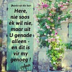 Prayer Board, Afrikaans, Prayers, Outdoor Structures, Motivation, Prayer, Beans, Inspiration
