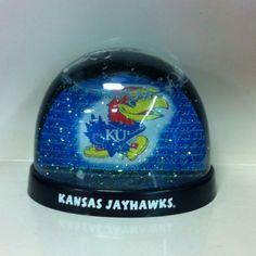 jayhawk snowglobe University Of Kansas, Kansas Jayhawks, Snow Globes, Rock, Decor, Decoration, Skirt, Locks, The Rock