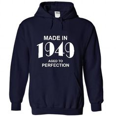 Made in 1949 - #hoodie freebook #floral sweatshirt. CHECK PRICE => https://www.sunfrog.com/Birth-Years/Made-in-1949-2824-NavyBlue-44897365-Hoodie.html?68278