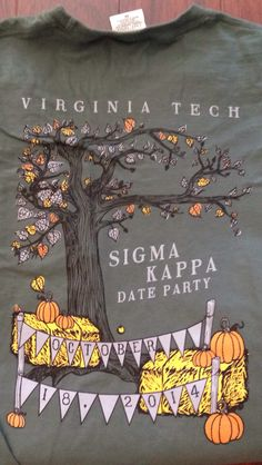 Sigma kappa date party shirt | Shirts for Greeks