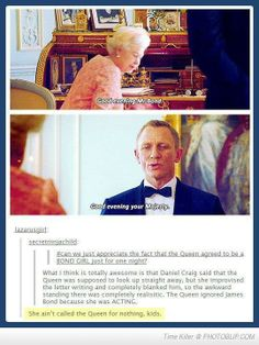 The Queen Is Awesome