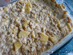 Karola's Kitchen: Pijana owsianka / Boozy Baked Oatmeal Baked Oatmeal, Breakfast, Kitchen, Food, Baked Oats, Morning Coffee, Cooking, Meals, Kitchens