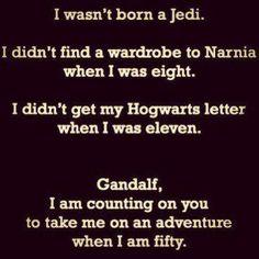 I wasn't born a Jedi