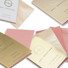 Mai Couture Highlighter and Blush Papiers // Belle Belle Beauty