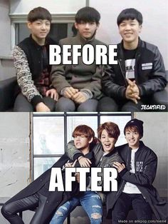 Maknae Line's Puberty | allkpop Meme Center