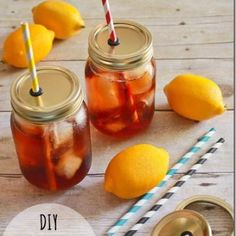 DIY Mason Jar Straw Lids {party things}