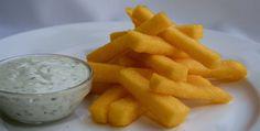 Funchi frietjes – Krioyo for kids
