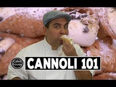 It's creamy, it's fluffy, it's Buddy Valastro's secret cannoli cream recipe, baby! Watch now to see the Carlo's Bakery secret recipe you've been waiting for. Cannoli Recipe Easy, Cannoli Filling, Cannoli Cream, Canolli Cake, Bakery Recipes, Dessert Recipes, Delicious Desserts, Cake Boss Recipes, Cake