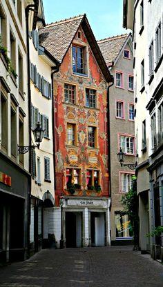 Old town of Chur, Switzerland
