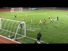 Man City 3v3 Shooting Game. - YouTube