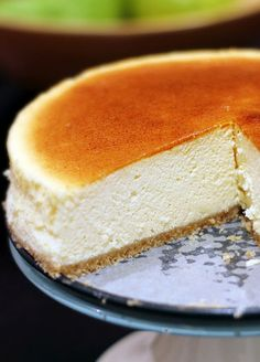 Light and Creamy Japanese Cheesecake | To Food with Love