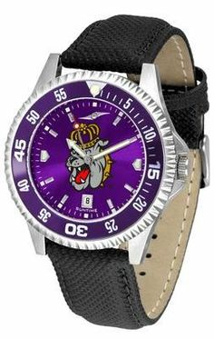 James Madison University Dukes Competitor Anochrome- Poly/leather Band W/ Colored Bezel - Men's - Men's College Watches by Sports Memorabilia. $78.73. Makes a Great Gift!. James Madison University Dukes Competitor Anochrome- Poly/leather Band W/ Colored Bezel - Men's