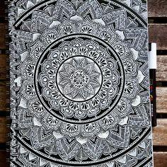 Done with the cover of my new book! ❤ #mandala #mandalas #mandalaart #mandaladrawing #mandalalove #mandalaartist #heymandalas #drawing #draw #drawings #drawingart #zentangle #zentangleart #zentangles #art #artist #blackandwhite #blxckmandalas #selfthaught #merith_mandala #imaginationarts #justartsogram #arts_mag #mandalalovers