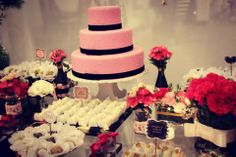 papelaria personalizada, paperie, ninguem mais tem, toppers, tags no palito, identificador de sabor, aniversario, party, 15 anos, debutante, sweets, romantic,flowers, rosa, pink