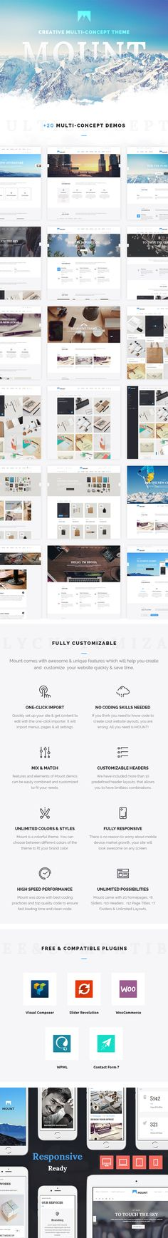Mount Business – Creative Multi-Concept WordPress Theme #small business #visual composer • Download ➝ https://themeforest.net/item/mount-business-creative-multiconcept-wordpress-theme/15700895?ref=pxcr