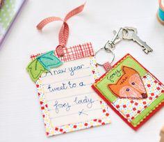 Whimsical Woodland Keyring & Gift Tag