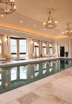 Luxury Indoor pool......for the cooler days and evenings