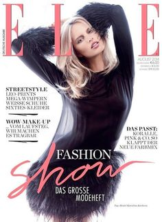 Elle Germany August 2014 Cover
