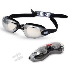 Sinca Schwimmbrille Wasserbrille UV-Schutz Antibeschlag langfristiger Nebelschutz Schwarz: Amazon.de: Sport & Freizeit