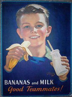United Fruit Company banana poster, 1928