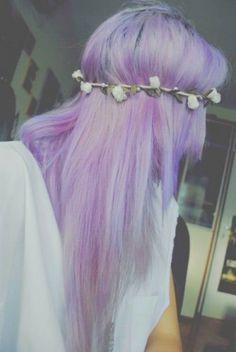 I really love purple hair