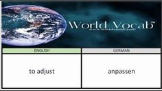 to adjust - anpassen German Vocabulary Builder Word Of The Day #32 ! Full audio practice at World Vocab™! https://video.buffer.com/v/56d5a9ad87f4108449d7e990