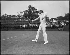 Bill Tilden in action - Longwood by Boston Public Library, via Flickr