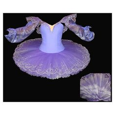 Professional ballet tutus and costumes of classic russian style for... ❤ liked on Polyvore featuring costumes, dance, ballet, dresses, tutu, ballerina halloween costume, ballet costumes, ballerina costume, purple costume and purple halloween costumes