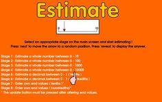 Estimation!