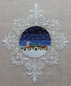 Look at our content for a whole lot more that is related to this striking photo Cross Stitch Christmas Ornaments, Xmas Cross Stitch, Cross Stitch Love, Cross Stitch Needles, Cross Stitch Pictures, Cross Stitch Borders, Cross Stitch Flowers, Christmas Cross, Cross Stitch Designs
