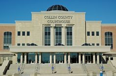 Collin County Courthouse. Collin County has grown so quickly that McKinney, Texas, has three standing county courthouses.