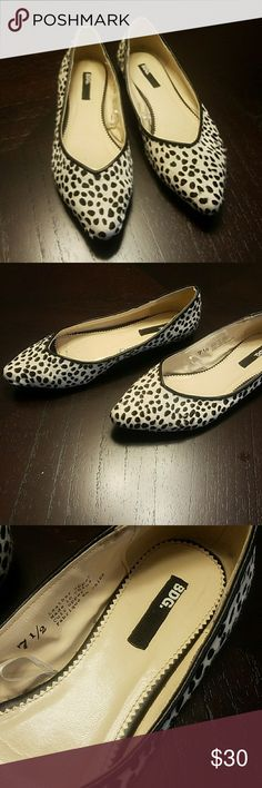 BDG animal print flats size 7.5 Urban outfitters BDG animal print flats size 7.5 in good used condition Urban Outfitters Shoes Flats & Loafers