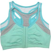 Fruit of the Loom front clasp sports bra