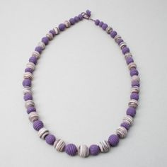 premo! Sculpey Textured Bead Necklace | Polyform Products Company