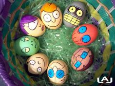 Futurama Easter Eggs from Katey Sagal's (Leela) page.