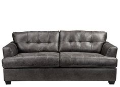 Add casual comfort and easy style to any room with the Lubbock queen sleeper sofa.