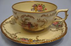 Beautuful vintage Rosenthal Sanssouci cup and saucer..I have the whole set, plates and all..TT