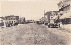 RP: Main Street (dirt) , STEAMBOAT SPRINGS , Colorado , 1910s Item# SCVIEW416012 (264583050)