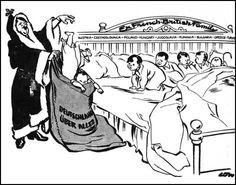 chamberlain appeasement cartoon - Google Search