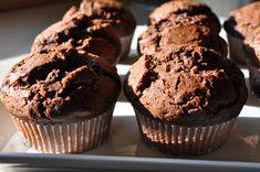 Suklaaneidit: Amerikkalaiset suklaamuffinssit Baking Recipes, Sweet Tooth, Muffins, Cheesecake, Cupcakes, Favorite Recipes, Sweets, Cookies, Breakfast