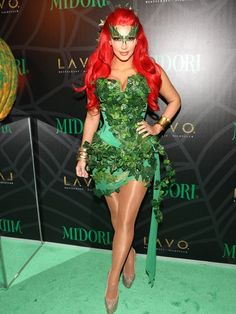 "Not Easy Being Green  Dressed as Uma Thurman's sexy Batman villainess, Poison Ivy, Kim looked festive and happy at a Halloween bash in N.Y.C. on Oct. 29 -- but her hubby was noticeably absent. The solo star attempted to downplay rumors of their troubled marriage, telling People: ""I'm going to Australia tomorrow so I'm in New York alone tonight."" But just two days later the truth came out, as Kim confirmed that their marriage was over."
