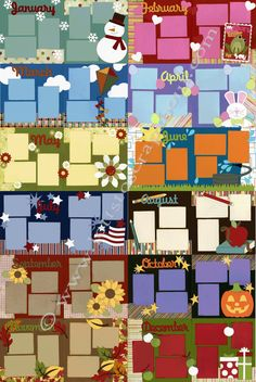 Affordable scrapbook kits for those with not much time.