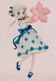 """**Buy this figure now to get a FREE display case while supplies last! Display your figure beautifully!** **Order now, and you will also receive a 10% OFF coupon usable on your next purchase! You'll see the coupon on your Cart Page the next time you go to make an order!** **""""The kind of like that means I want to become a bride!""""** From the popular anime series, ***Anohana: The Flower We Sa..."""