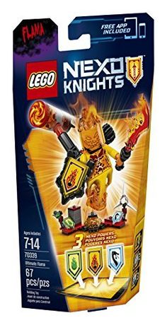 LEGO Nexo Knights 70339 Ultimate Flama Building Kit (67 Piece) http://toyarefun.com/toys/lego-nexo-knights-70339-ultimate-flama-building-kit-67-piece-2/