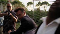 "Burn Notice 5x15 ""Necessary Evil"" - Sam Axe (Bruce Campbell) & Jesse Porter (Coby Bell)"