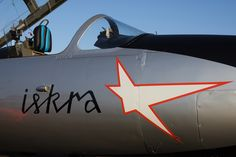 Military training jet TS-11 Iskra sponsored by Volf Aviation.  www.volfaviation.com