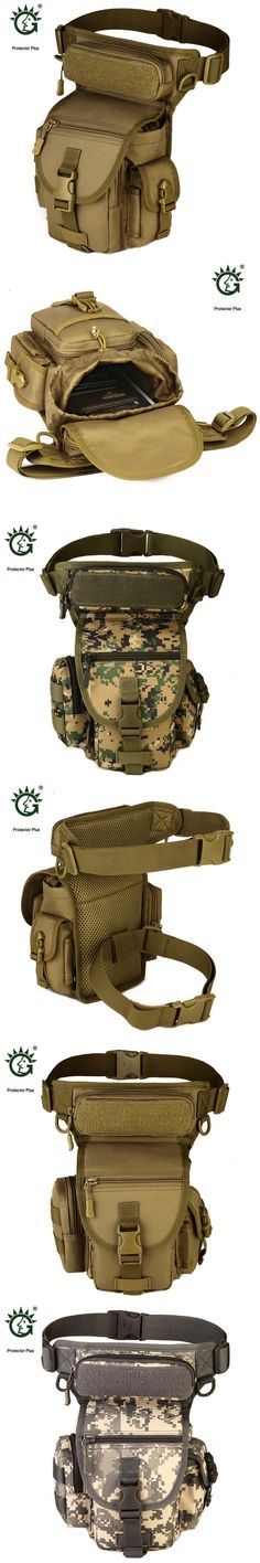 Protector Plus Camouflage Outdoor Molle Tactical Military Pouch Bag For Waist Leg Travel Tactical Camping Bags Sporttas