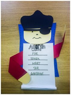 Arr - Talk like a pirate! Word Games for kids