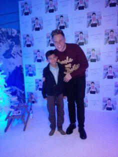 When our Kiddi Karts Dude met Olly Murs!