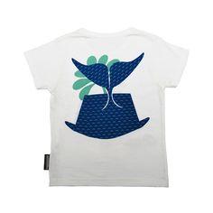 Coq & Pâte biologisch T-shirt walvis   EKO de PEKO = bio + eerlijk + duurzaam